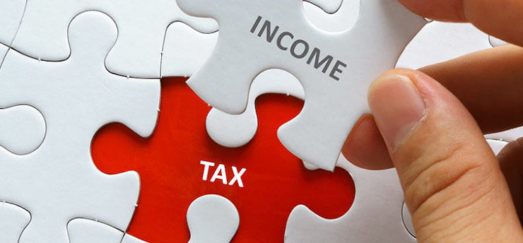 Income tax liability on rental for non-resident